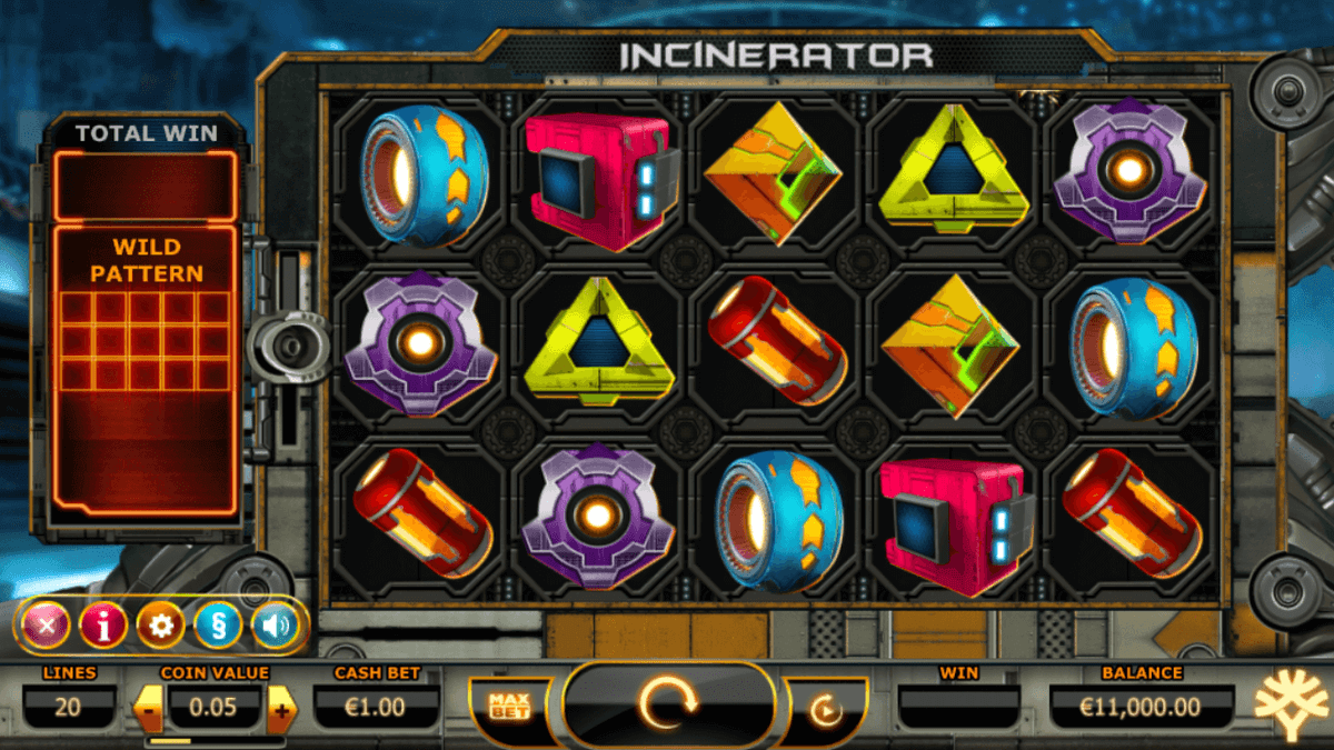 Incinerator Slot Machine
