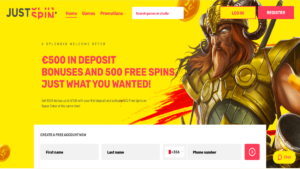 Justspin 100 No Deposit Free Spins