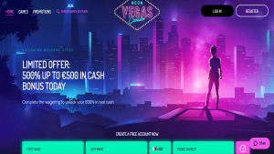 NeonVegas Review bonus verification faq